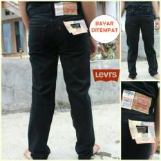 Toko Jeans Hitam Standar Pria Denim Best Seller Bms Clothing Indonesia