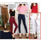 Ulasan Lengkap Tentang Lf Jeans Legging Wanita Joger Pants Celana Panjang Wanita Persu Ansje Npbm Nr D30 Putih D3C