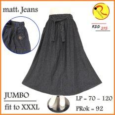 Beli Jeans Panjang Jumbo Hitam Navy Cicil