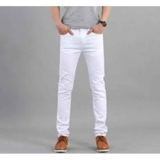 JEANS PRIA - PUTIH  Soft jeans