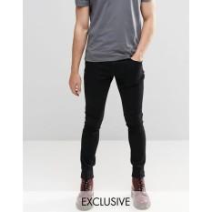 Prsd Celana Jeans Pria Slim Fit / Skinny Jeans - Hitam [Produk Category Celana Jeans Pria / Jeans Strecth /Jeans Pria Sobek / Jeans Pria Ripped