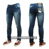 Jual Jeans Ripped Bluewoshed Ripped