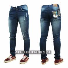 Katalog Jeans Ripped Bluewoshed Ripped Bms Clothing Terbaru