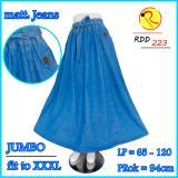Spesifikasi Jeans Tali Jumbo Pecah Delapan Biru Muda Online