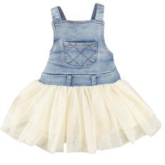 Beli Sunweb Jeans Tulle Dress Beige Intl Online Terpercaya