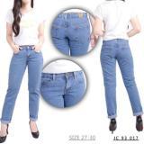 Spesifikasi Jeanz Ori Celana Panjang Wanita Boyfriend Jeans 017 Jeanz