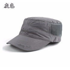 Jeep Topi untuk Pria dan Wanita Baseball Cap Outdoor Sunshade Sports JEEP  Cepat Kering Hat- 559f01f0f5