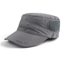 JEEP Cepat Kering Topi Topi Topi untuk Pria dan Wanita Outdoor Kerai Topi Olahraga Matahari-Intl