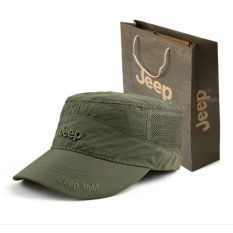 Beli Jeep Quick Dry Hat Hat Cap For Men And Women Outdoor Sunshade Sports Sun Hat Intl Baru