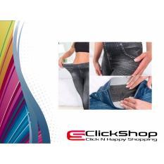 Spesifikasi Jegging Hitam Legging Jeans Pelangsing Tubuh All Size Fit L Baru