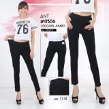 Ulasan Lengkap Tentang Nusantara Jeans Celana Jegginf Wanita Model Skinny Street Berbahan Denim Bagus Jahitan Rapi Murah Hitam