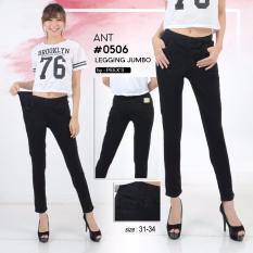 Ulasan Tentang Nusantara Jeans Celana Jegginf Wanita Model Skinny Street Berbahan Denim Bagus Jahitan Rapi Murah Hitam