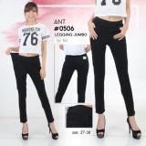 Jual Nusantara Jeans Celana Jegging Wanita Berbahan Denim Pinggang Karet Tidak Pakai Resleting Sesuai Gambar Jahitan Rapi Branded Murah