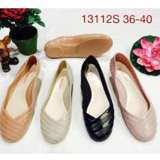 Review Toko Jelly Shoes Bara Bara Sepatu Wanita Flat Shoes Import Vio Id306 Warna Dikirim Random