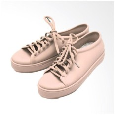 Jelly Shoes Casual ( Peach)