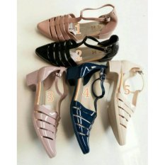 Review Jelly Shoes Kimberly No 5 Krem Myanka