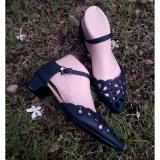 Promo Myanka Jelly Shoes Sabrina Hitam Multi