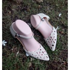 Jual Myanka Jelly Shoes Sabrina Krem Multi Asli
