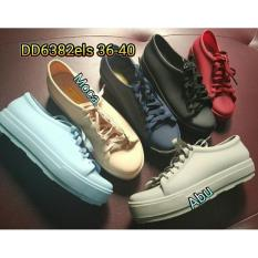 jelly shoes sepatu wanita casual kets bara bara karet import dd6382els