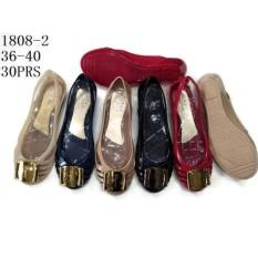 Ulasan Lengkap Jelly Shoes Wanita Sepatu Flat Wanita Jelly Import Vio Id30 Warna Metalik