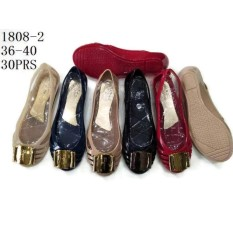 Promo Jelly Shoes Wanita Sepatu Flat Wanita Jelly Import Vio Id30 Warna Metalik Akhir Tahun