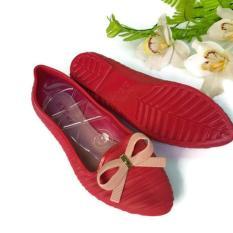 Beli Jelly Shoes Wanita Sepatu Flat Wanita Jelly Import Vio Id31 Pakai Kartu Kredit