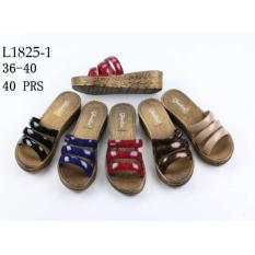 Diskon Jelly Shoes Wanita Wedges Jelly Wanita Import Vio L1825 Dikirim Random Jelly Shoes Jawa Barat