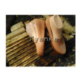 Obral Myanka Jelly Shoes Wedges Collin Mocca Murah