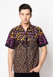Review Jening Batik Short Sleeve Jng007 Black Purple Indonesia
