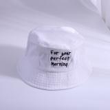 Gaya Jepang Koboi Pria Dan Wanita Topi Nelayan Topi Buket Putih Original