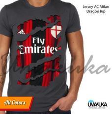 Jersey AC Milan Dragon Ripp - Kaos 3D Umakuka Original  Bandung
