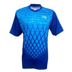 Cara Beli Jersey Badminton Running Kaos Baju T Shirt A3 Biru