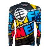 Dimana Beli Jersey Baju Sepeda Tangan Panjang Freegun Mtb Downhil Motorcross Multicolor Jersey