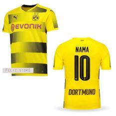 Diskon Jersey Bola Dortmund Home 2017 2018 Custom Nama Nomor Jersey Indonesia