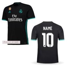 Review Jersey Bola Madrid Away 2017 2018 Custom Nama Nomor Terbaru
