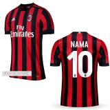 Ulasan Jersey Bola Ac Milan Home 2017 2018 Custom Nama Nomor