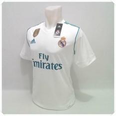 Baju Bola Jersey Club Terbaru 2018/2019 Real Madrid HomeIDR135000. Rp 135.000