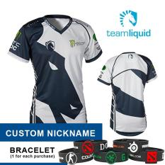 Toko Jersey Liquid White 2017 Custom Nickname Apparel Gaming Store