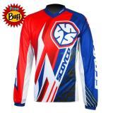 Toko Jersey Sepeda Downhil Baju Sepeda Gunung Biking Cycling Jersey Syc Merah Online