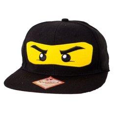 JersiClothing Topi Snapback Ninja - Hitam