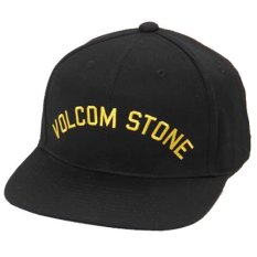 JersiClothing Topi Snapback Volcom Stone - Hitam