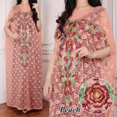 Jessica Fashion Kaftan Mila - Peach  - Best Seller