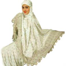 Jessica Fashion Mukena Zaskia 3-Putih-BEST SELLER