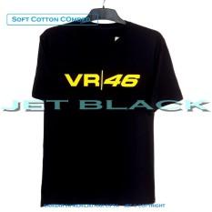JET - Kaos Distro T-Shirt Fashion 100% Soft Cotton Combed 30s Pria Wanita Cewe Cowo Baju Shirt 3D Jakarta Bandung Terbaru Baru Jaman Now Kekinian Seni Gambar Tulisan 420 4.20 VR46 Animasi Motor Lengan Balap Bagus Murah Keren Atasan Pakaian