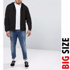 Tips Beli Jfashion Big Size Jaket Hoodie Pria Dewasa Variasi Seleting Vin