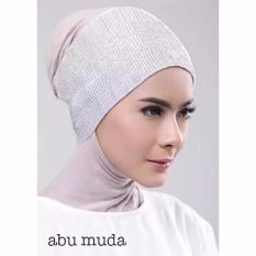 Jfashion Ciput Inner Bandana Hijab Rajut Polos Anti Pusing - Ciput rajut