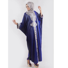 Jfashion Long dress Gamis maxi variasi Renda tangan Panjang - Syahrini