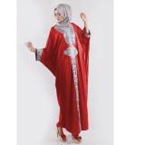 Obral Jfashion Long Dress Gamis Maxi Variasi Renda Tangan Panjang Syahrini Murah