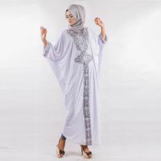 Jfashion Long dress Gamis maxi variasi Renda tangan Panjang - Syahrini