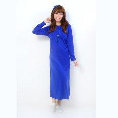 Beli Jfashion Long Dress Gamis Maxi Tangan Panjang Polos Maxi Polos Cicilan